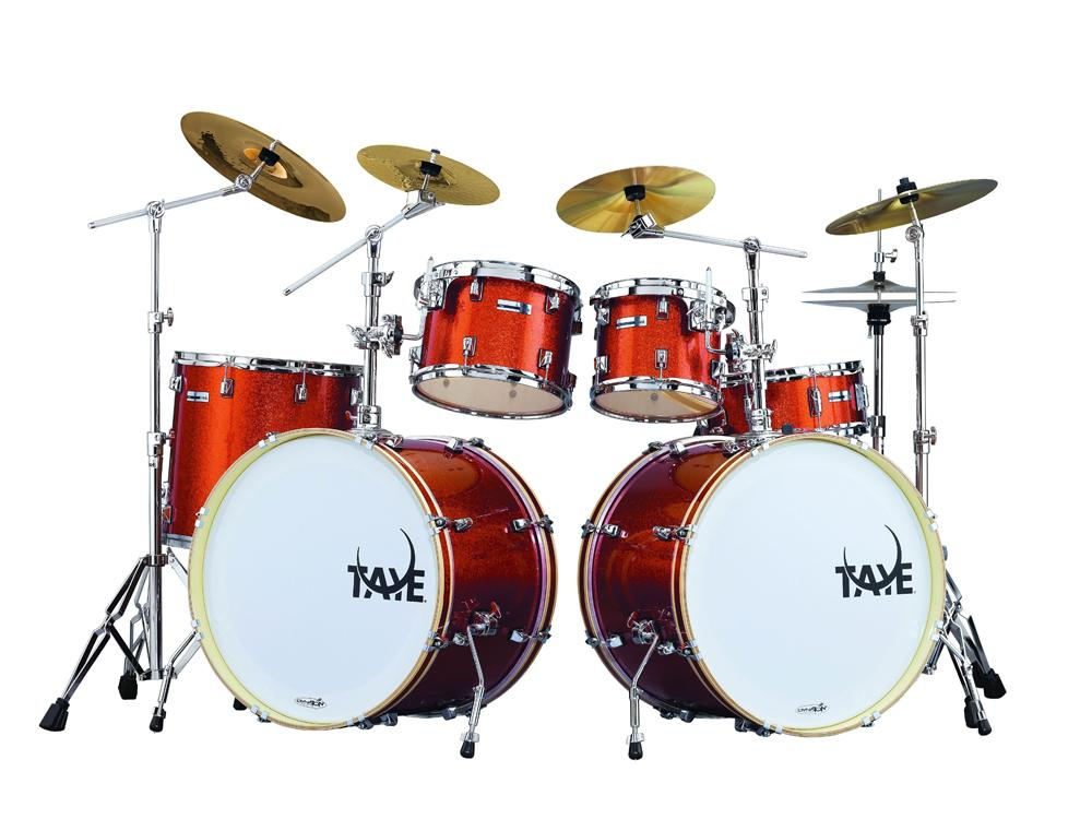 5 piece stage prox drum shell pack with double floor toms and hardware pack. Black Bedroom Furniture Sets. Home Design Ideas